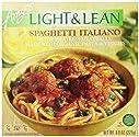 Amy's Light & Lean, Spaghetti Italiano, 8 oz (Frozen)