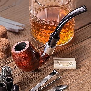 ARIZONA DESERT IRONWOOD 1-5 puff Hand made wood small tobacco smoking 3.5 One Puff Pipe lotI3 Large Suction Hole Prevents Gunking