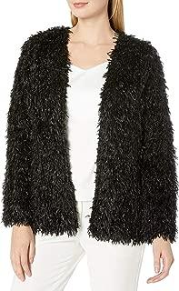 Women's Fuzzy Feather Jacket