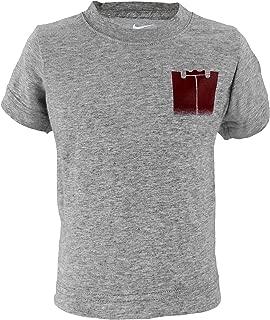 Toddler Boys Dri-Fit Athletic Cut Lebron James Monogram Tee Shirt - Grey (3T)