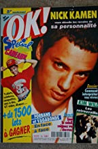 OK ! âge tendre 760 AOUT 1990 COVER NICK KAMEN KIM WILDE FORBANS VAGABONDS VANESSA PARADIS MADONNA