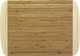 Totally Bamboo 20-1250 Kona Bamboo Carving & Cutting Board with Juice Groove, 18