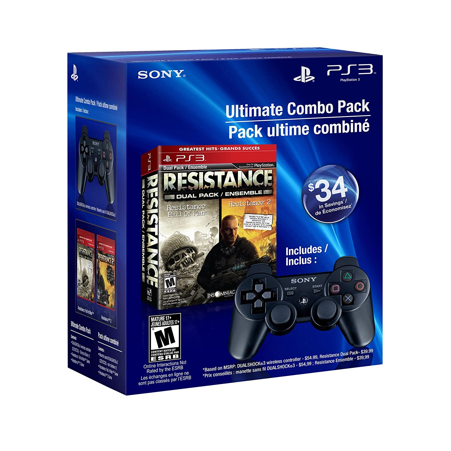 Resistance Raleigh Mall Dual Pack DUALSHOCK3 Super Special SALE held wireless Playstat - controller
