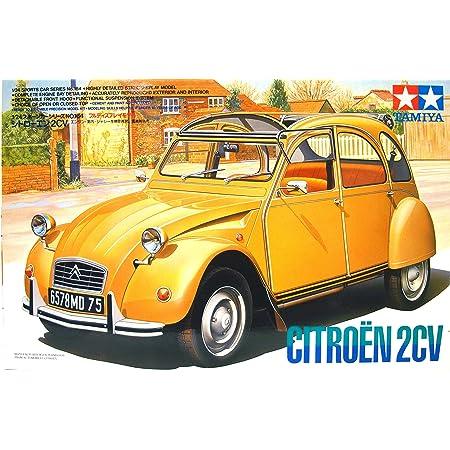タミヤ 1/24 シトローエン2CV (1/24 スポーツカー:24164)
