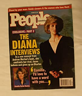 PEOPLE WEEKLY - 0CTOBER 20, 1997 - VOL. 48, NO. 16 EXCLUSIVE: PART 2 THE DIANA INTERVIEWS