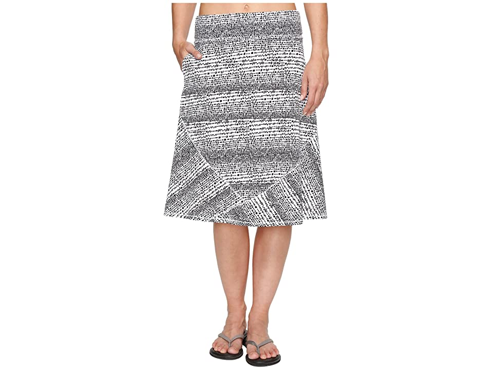 ExOfficio Wanderlux Convertible Skirt (Black/White) Women