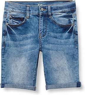 s.Oliver Junior 402.10.106.26.180.2064999 Pantalones Cortos de Jean, 56Z6, 146 para Niños