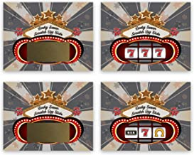 Casino Night Party Gambling Scratch Off Game Cards 25 Pack Slot Machine My Scratch Offs