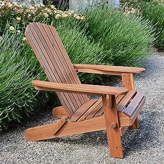 Plant Theatre Adirondack Folding Hardwood Chair (Renewed)