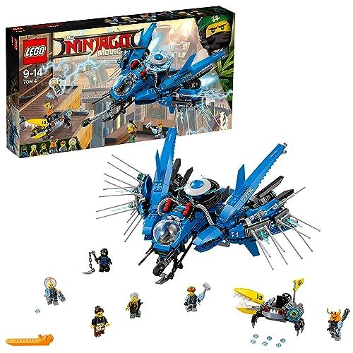 LEGO Ninjago - Le Jet supersonique de Foudre - 70614 - Jeu de Construction