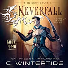 Neverfall: The Dark Path, Book 2: A Gamelit Lit RPG Series