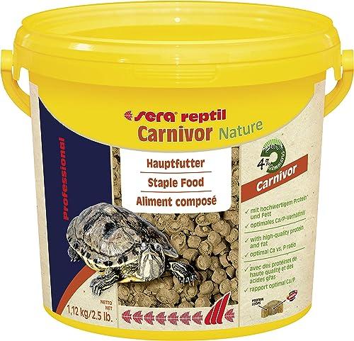 Sera Reptile - Aliment Professionel pour les reptiles carnivores - 3.8 l