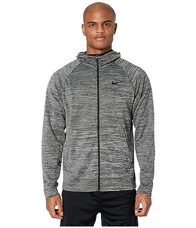 Nike Spotlight Hoodie Full Zip (Black Heather/Black) Men