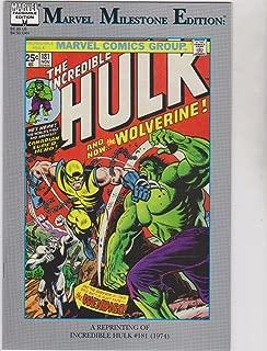 Marvel Milestone Edition: The Incredible Hulk #181
