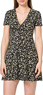 Tommy Jeans Tjw Fit Flare Floral Print Dress Vestito Donna