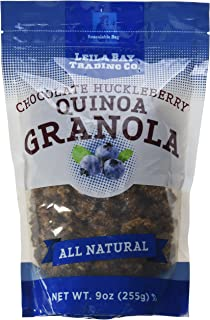 Leila Bay Trading Company, Chocolate Huckleberry Quinoa Granola, 7 Ounce