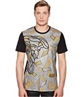 Versace Collection - Metallic Applique Medusa T-Shirt