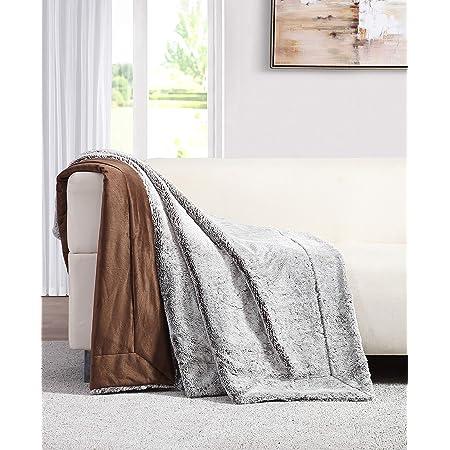 personalized blanket minky blanket throw blanket Dark grey Rex Rabbit  Real fur blanket toddler blanket luxury blanket lydia