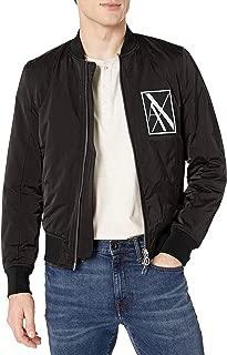 Men's Zip Up Blouson Jacket with Side Zipper Detail