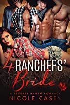 Four Ranchers' Bride: A Reverse Harem Romance (Love by Numbers Book 3) (English Edition)