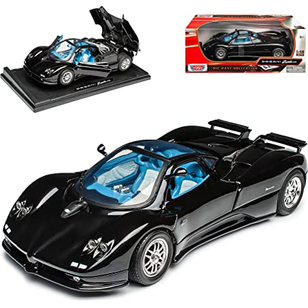 Pagani Zonda 5 Cinque Coupe Weiss Karbon 1 18 Motormax Modell Auto Spielzeug