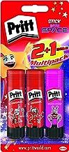 Pritt PBS2D Glue Sticks Plus One Coloured Glue Stick,20 g