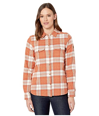 Fjallraven Ovik Heavy Flannel Shirt (Terracotta Pink) Women