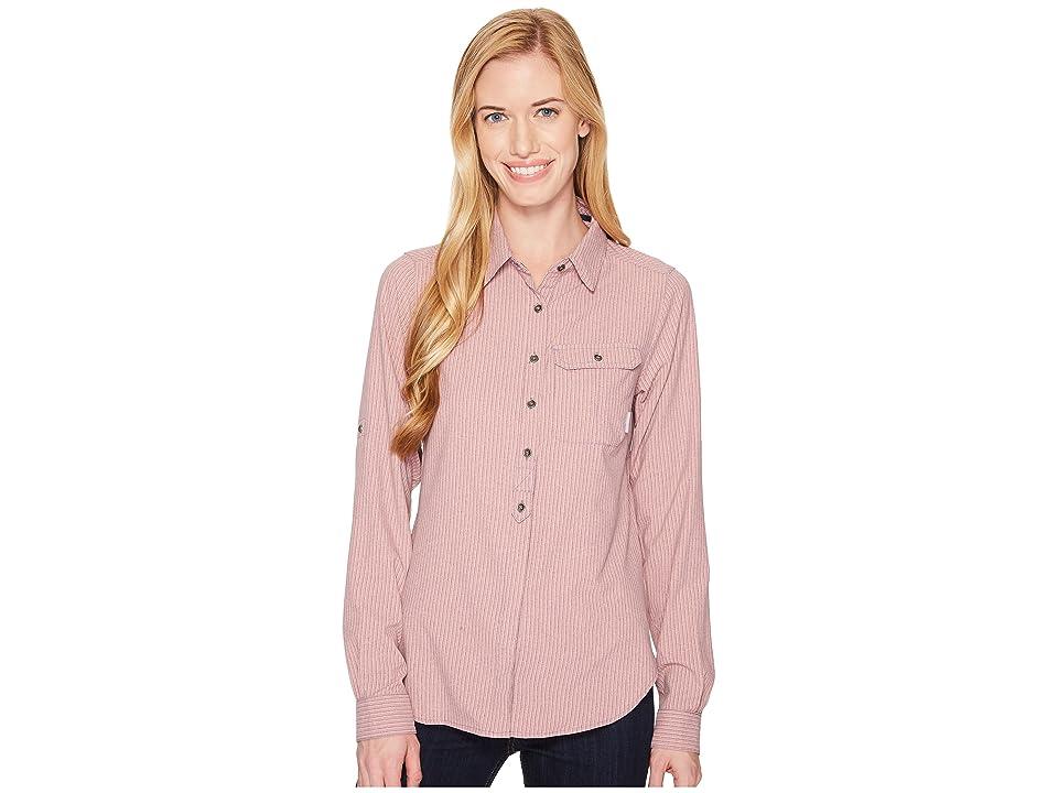 Columbia Bryce Canyon Stretch Long Sleeve Shirt (Nocturnal) Women