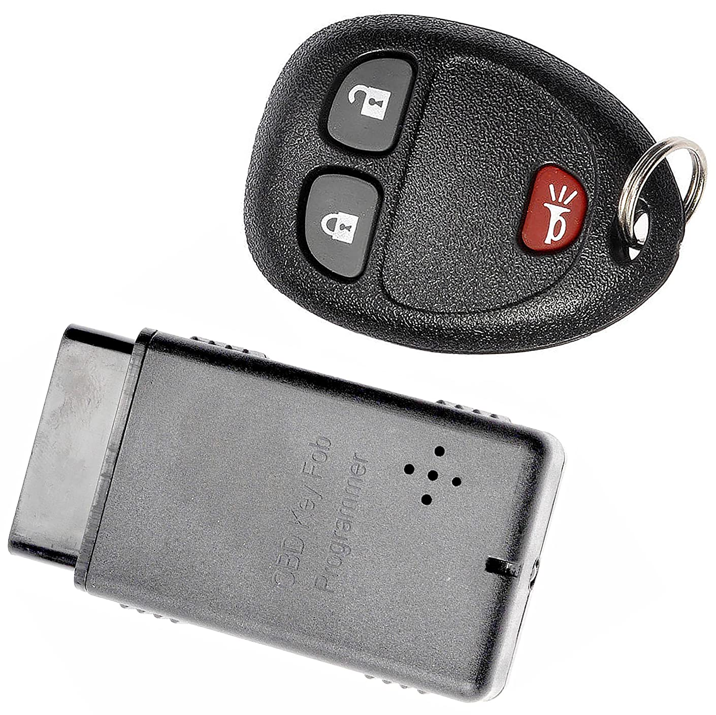 APDTY 24848 Keyless Entry Remote Key Fob Transmitter w/Programming Tool Fits Select Buick Terraza Chevrolet HHR Uplander Pontiac Montana Saturn Relay (Replacement For GM 15777636 Only!!)