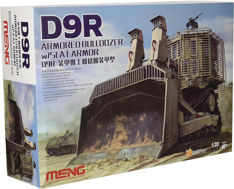 nueva gama alta exclusiva Meng 1 1 1  35Escala Kit de Modelo Armadura D9R Bulldozer  descuento