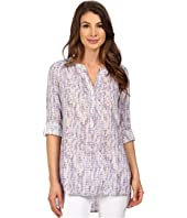 NYDJ - Knotted Trim Henley Tunic