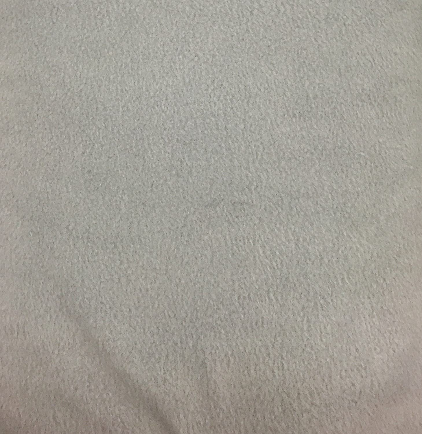 4 Yard Bolt Anti Pill Fleece Fabric Gray OFFicial site Medium Polyester Large discharge sale