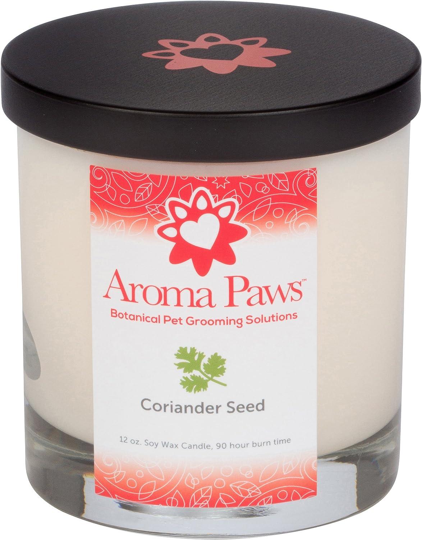 Aroma Paws Coriander Candle, 12 oz