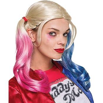 Rubies Peluca Harley Quinn 33608: Amazon.es: Juguetes y juegos