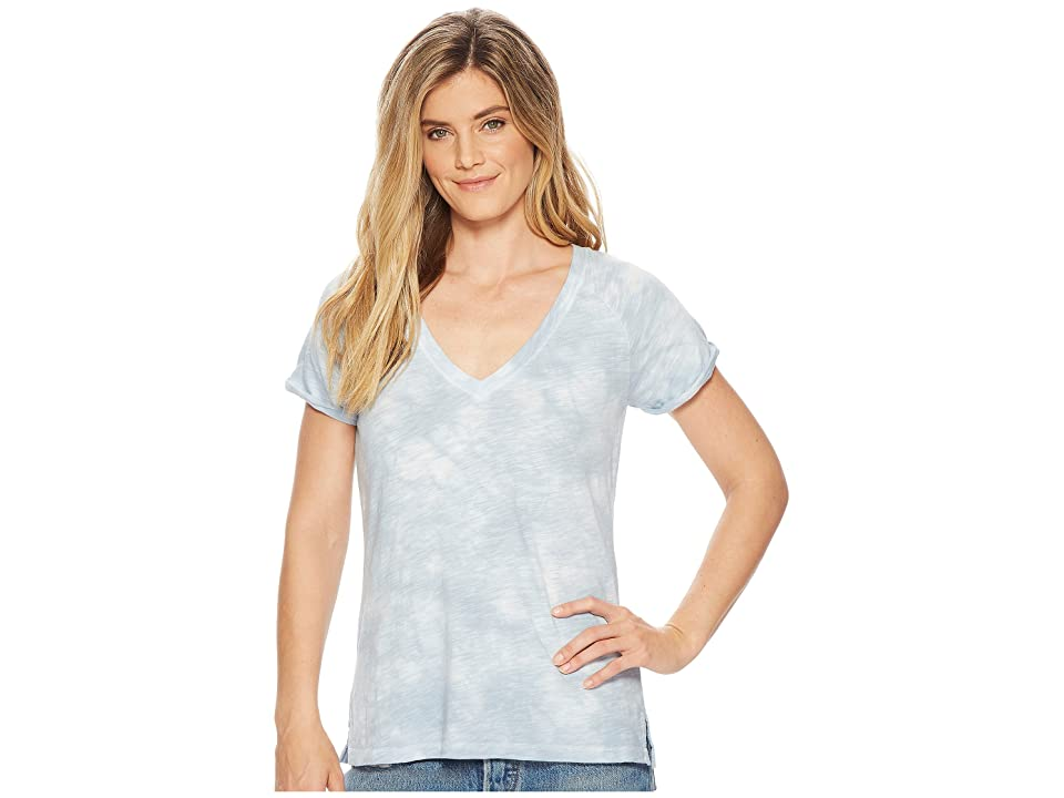 Sanctuary V-Neck Tee (Bluebell Swirl) Women