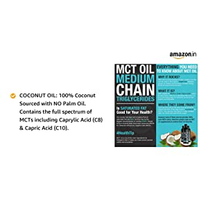 Kayos Naturals MCT Oil From Coconut Unsweeten...