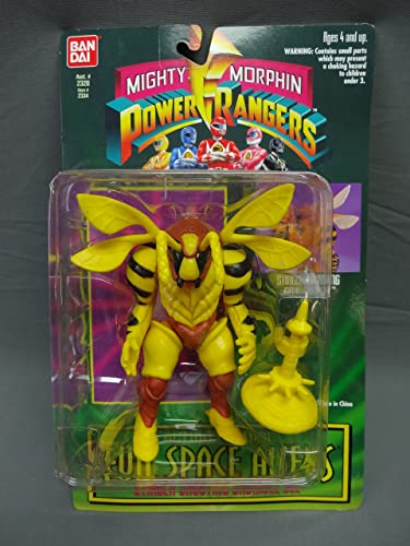 Mighty Morphin Power Rangers Evil Space Aliens STINGER SHOOTING GRUMBLE BEE Action Figure
