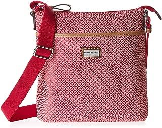 Tommy Hilfiger Crossbody Bag for Women - Canvas, Fuchsia