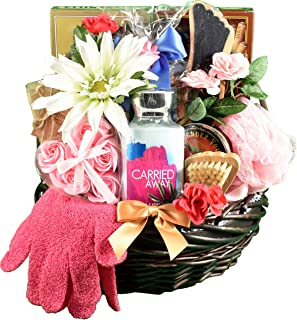 A Sweet Escape, Spa & Chocolates Gift Basket For Her - Spoil Her In Luxury With Decadent Chocolates & Personal Care Items ...
