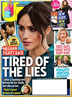 US Weekly Magazine October 22, 2018   Meghan is Tired of the Lies