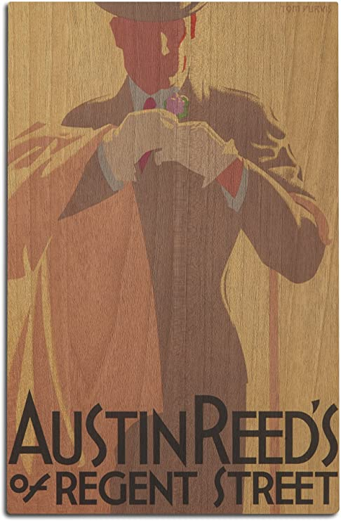 Amazon Com Lantern Press Austin Reed Artist Purvis Vintage Advertisement 12x18 Wood Wall Sign Wall Decor Ready To Hang Home Kitchen
