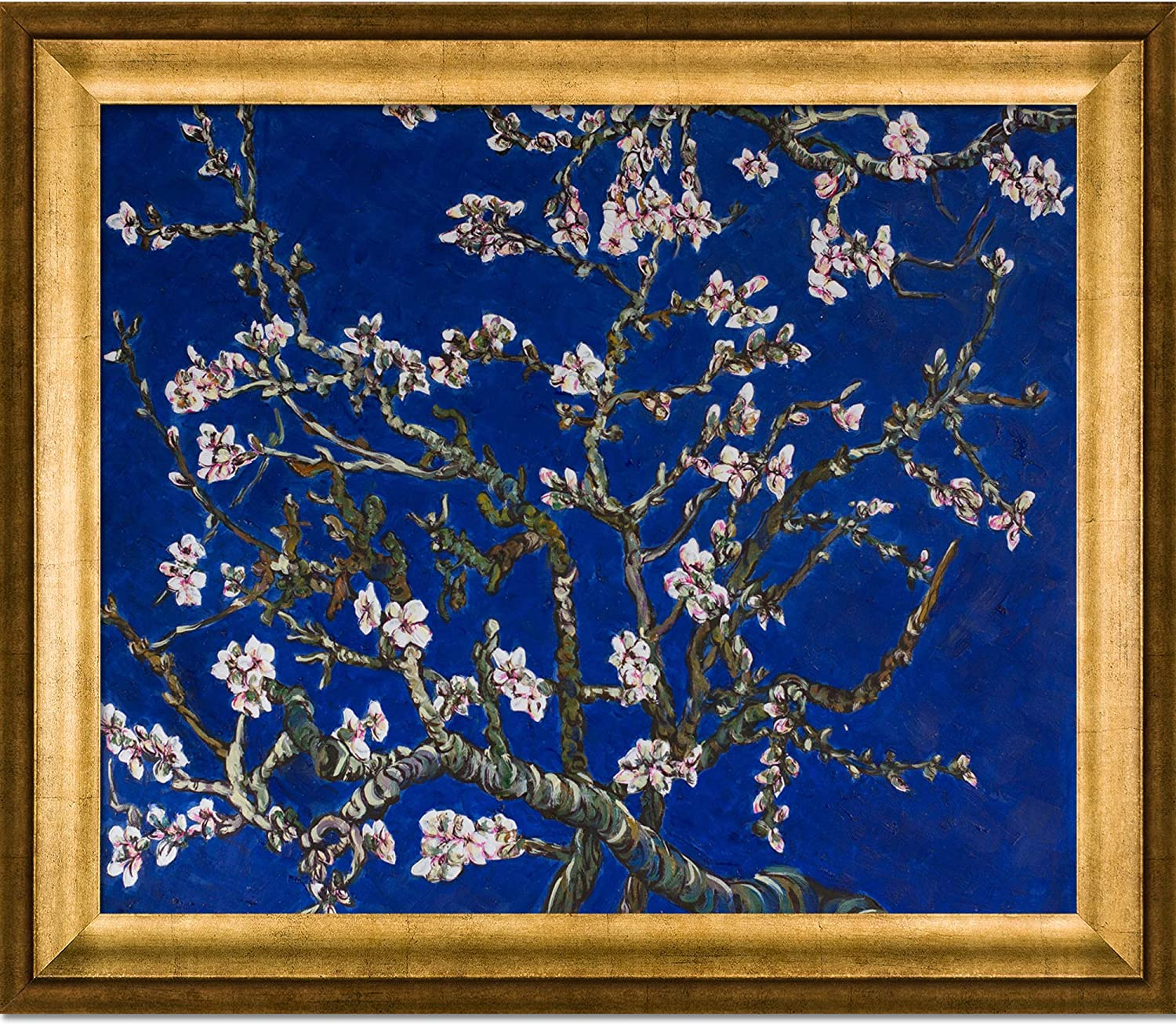 La Pastiche VG2346-FR-994620X24 Framed Tree Almond Spring new work one after another Oil Online limited product Painting