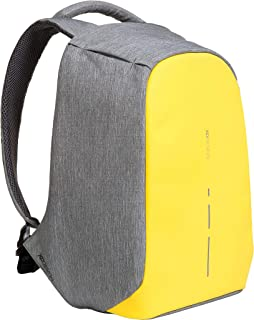 XD Design Bobby Compact Anti-Theft Laptop USB Backpack Yellow (Unisex Bag)