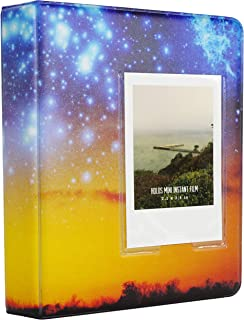 Álbum de bolsillo Yosuny 64 para Fujifilm Instax Mini 7s 8 8+ 9 25 50 70 90 Polaroid PIC-Snap 300 HP Gear mini película Kodak de 3 pulgadas