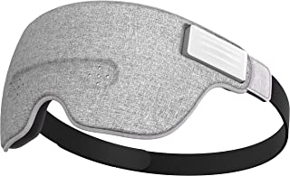 Luuna Brainwave Brain Sensing Bluetooth Smart Sleep Mask Built-in Music/Sounds, Wireless Connection to Most Devices with EEG and AI Technology - Great for Home, Travel or Nap-Break at Office