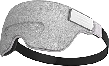 Luuna Brainwave Brain Sensing Bluetooth Smart Sleep Mask Built-in Music/Sounds, Wireless Connection to Most Devices with E...