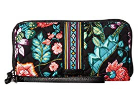 Vera Bradley Iconic RFID Accordion Wristlet at Zappos.com 52c623b06e