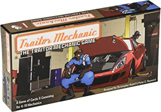 Greater Than Games The Traitor Mechanic Board Game