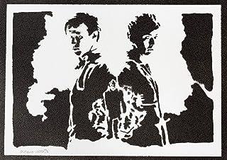 Poster Doctor Who Handmade Graffiti Street Art - Artwork