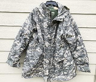 Genuine USGI ECWCS ACU Improve Rainsuit Cold/Wet Weather Parka W/Liner - X-Large